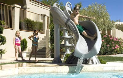 X Stream Water Slide