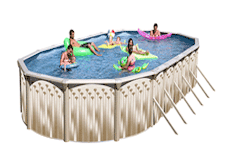 Do it yourself above ground and inground pool kits at the - Do it yourself swimming pool kits ...